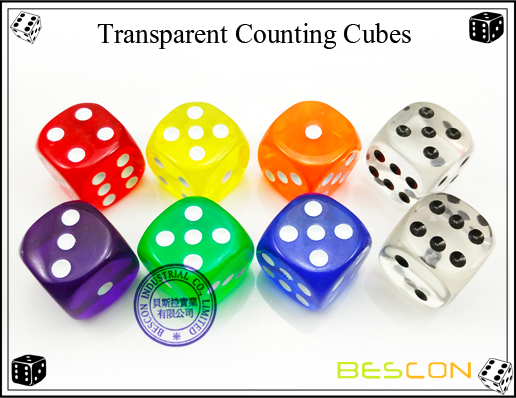 Transparent Counting Cubes-3