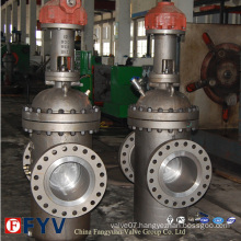 API 6D Slab Gate Valve with Gear (Parallel type gate valves)