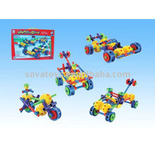 puzzle racing car catena block toy