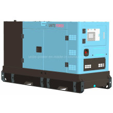 36kw 45kVA водяным охлаждением Звукоизоляционное genset Тепловозный с двигателем Perkins