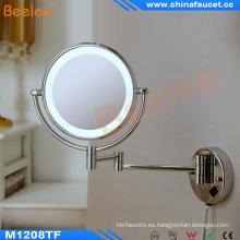 Cuarto de baño del hotel montado en la pared espejo de afeitar LED con CE aprobado