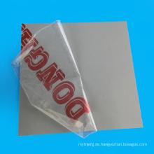 Rohstoff wasserdichtes PVC-Blatt für Küchenschrank