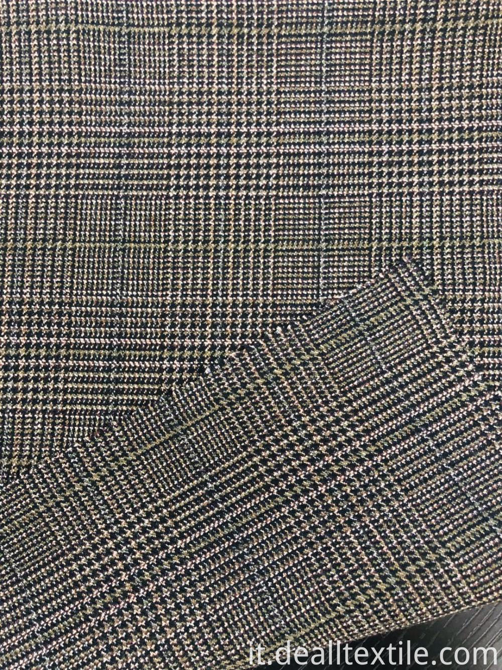 2020 women's check TR shirt fabric