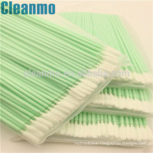 Consumable and ESD Safe Head Polyester Cleanroom Swab761 Cleaning For Machinery Applicator