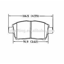 D822 04465-17100 Façades pour plaquettes de frein BYD Geely