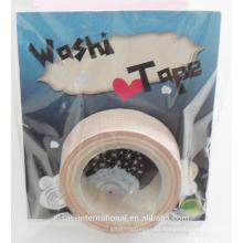 venta al por mayor diy brillo washi cinta japonesa