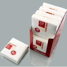 square paper napkin disposable