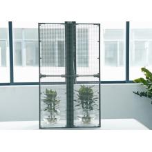 Tela de exposição exterior da cortina da fachada dos meios