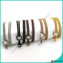 Wholesale Stainless Steel Rolo Chain Necklace (FN16041802)