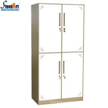 2018 boa venda escola de alta qualidade quatro portas armário de metal