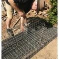 China parede de gaiola de aço soldado galvanizado