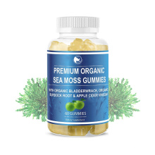 Organic Alkaline Formula Irish sea moss plus gummies bear with 102 nutrients