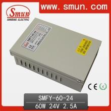 24V 2.5A 60W IP40 Rainproof Fuente de alimentación de conmutación para el exterior