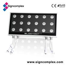 Fabricants carrés d'éclairage de projecteur de 50W 3in1 IP65 LED avec du CE RoHS