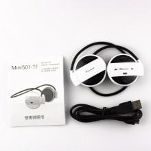 Mini-501 Universal Wireless Stereo Bluetooth 4.0 Earphone Sport Headset Music Headphone
