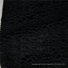 Wholesale high quality cotton rayon blend fake fur fabric for coat
