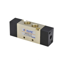 4V400 Series Air valve/Two-position Five-way /Aluminum Alloy Pneumatic Solenoid Valve