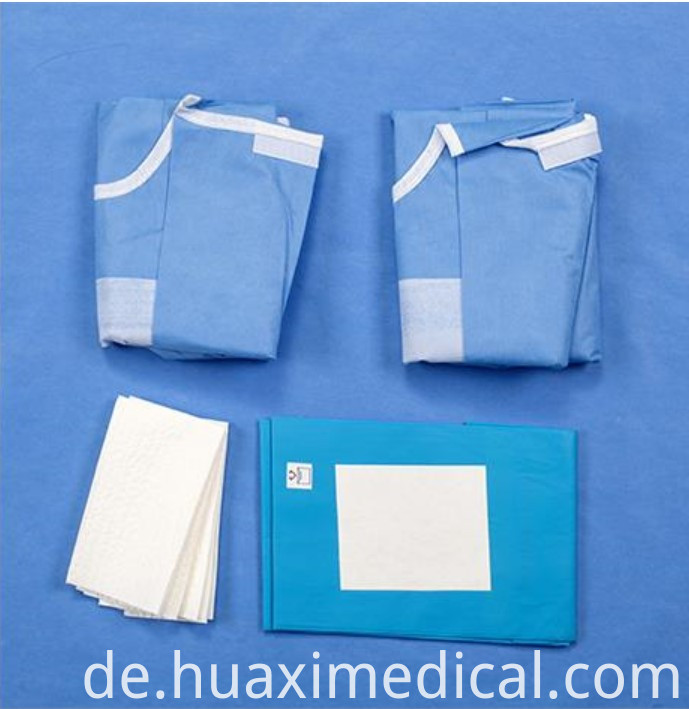 surgical drape pack