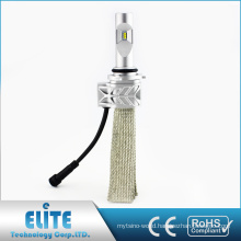 5S Pairs 9005 LED Headlight 4000 lumen 6500K Pure white Beam Fanless Bulb Conversion with CE ROHS