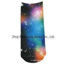 Impresión de papel Lady Fashion Socks Star Pattern