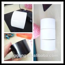 Cinta de envoltura de tubo de PVC blanco y negro