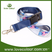 Luxury Lanyard For Promotion With Metal Buckle
