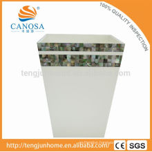 Canosa shell mosaic collection black room trash can