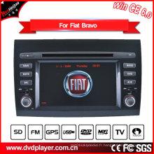 Hualingan Navigation GPS pour FIAT Bravo Lecteur DVD Windows Ce