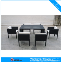 Restaurant Dining Table Set Rattan Dining Table And Chairs