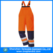 Custom Made Warm High Visibility Orange Jumpsuit for Adult