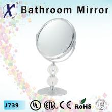 7 pouces miroir de salle de bains Stand cosmétique cristal