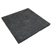 High Elasticity Rubber Gym Flooring Mat Non-slip Rubber Garage Floor Tile