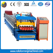 Meal Glazed Tile Roof Sheet Roll Forming Machine