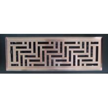 grade de piso da ventilação