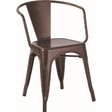 Maria Restaurant Metal Tolix Chair Seat Mesh
