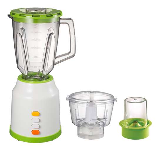 Small Plastic Jar Food Blender With Chopper