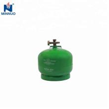 Cilindro de gas de 2kg glp