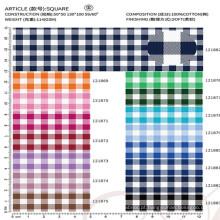 tecido de algodão para o fornecedor chinês da camisa de vestido dos homens