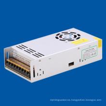 DC12 conductor del LED para la tira del LED Módulo del LED CE RoHS aprueba la fuente de alimentación constante del voltaje 350W
