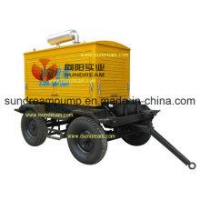 Trailer Mounted Concrete Pump ISO9001