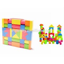 Crianças material seguro EVA engraçado macio plásticos blocos de construção com EN71
