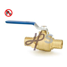 Горячая вковка свинец латунь трубы PEX шариковый клапан