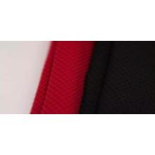 100% poliéster spandex tela de tricot de malla de ojos de pájaro