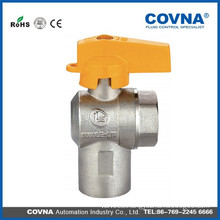 natural gas hand ball valve for home kitchen