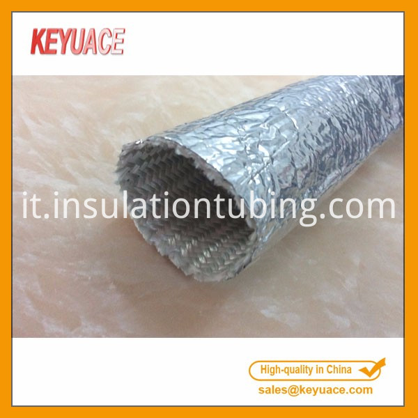 Fiberglass Braided Sleeve Tube