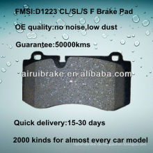 D1223 OE QUALITY Niedriger Metall-Scheibenbremsbelag für BENZ CL550 / S550 / SL550
