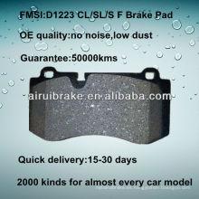 D1223 OE QUALITY disco de freno de disco de metal bajo para BENZ CL550 / S550 / SL550