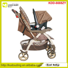 Manufacturer new baby stroller china 2 to 1 adjustable handle height baby stroller with carseat