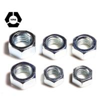 Porcas hexagonais em aço inoxidável DIN936