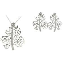 Vente en gros Bijoux Mode femme AAA CZ 925 Silver Set (S3285)